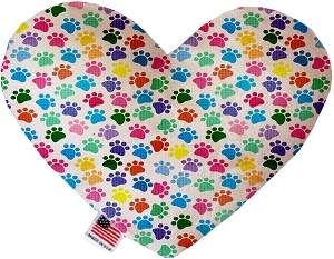 Confetti Paws 8 inch Heart Dog Toy